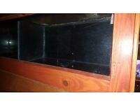 Various Glass tanks for sale