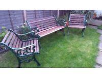 Delightful Antique Style Garden Furniture Set For Sale.