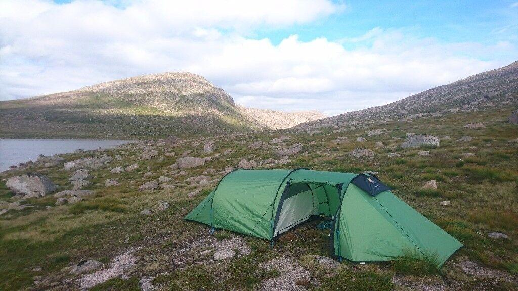 Hoolie 2 ETC Wild Country Tent - 3 season 2 man lightweight tent with large & Hoolie 2 ETC Wild Country Tent - 3 season 2 man lightweight tent ...