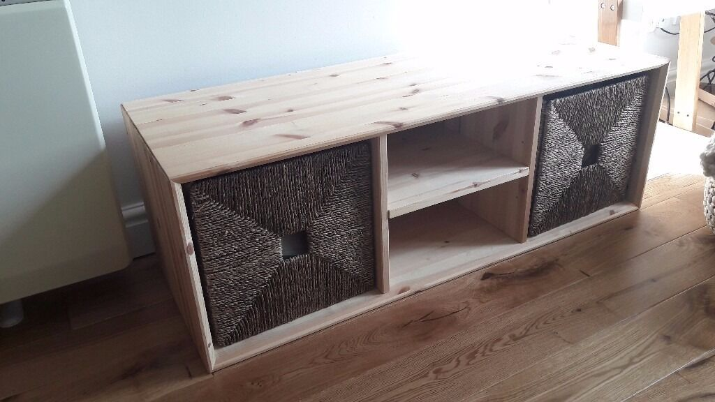 TV Stand + Storage Box Knipsa