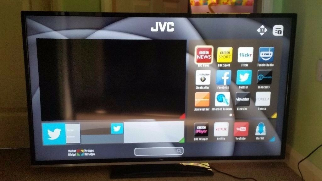 jvc smart tv lt50c750 50u0026quot 1080p hd led lcd internet tv