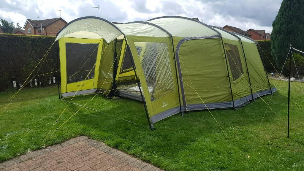 Vango nadina 600 tent carpet u0026 footprint & Vango nadina 600 tent carpet u0026 footprint | in Huthwaite ...
