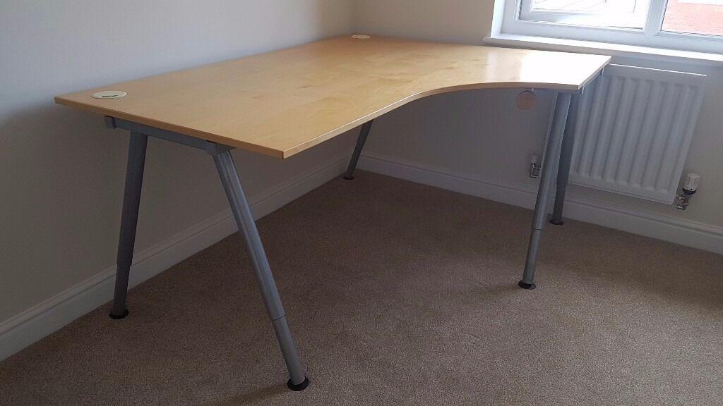 High Quality IKEA Galant Right Hand Corner Desk Home Design Ideas