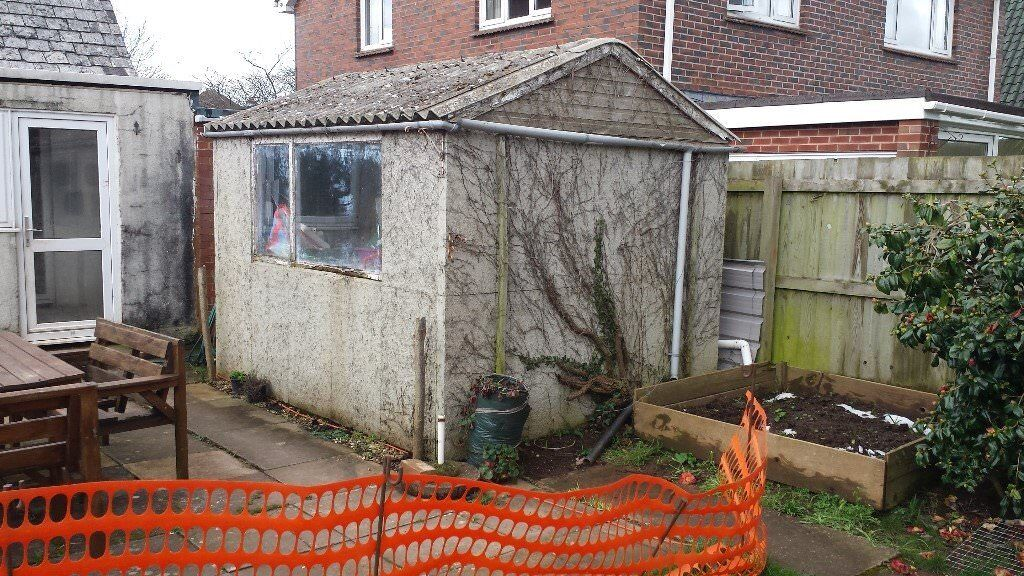 Concrete Sectional Shed