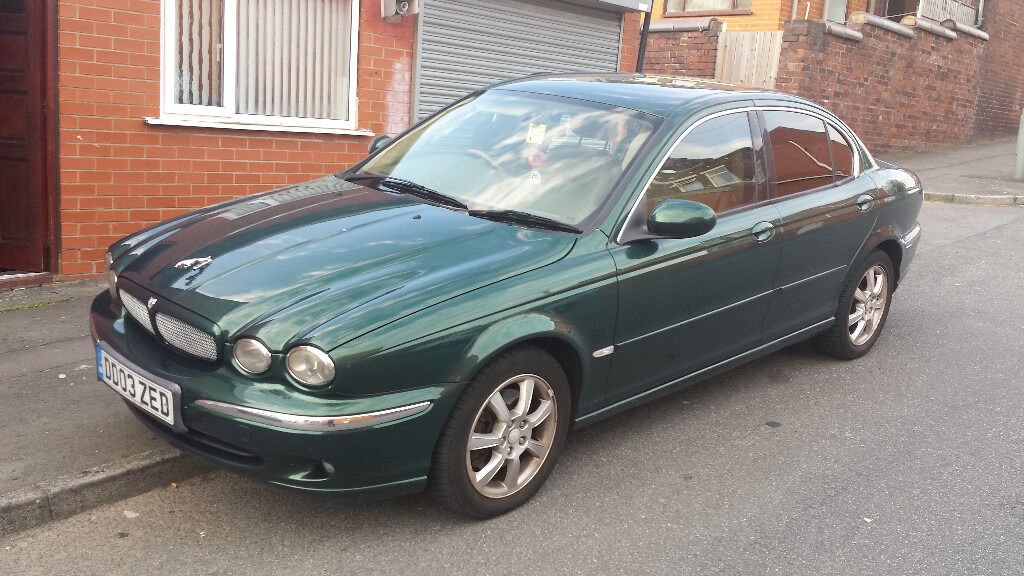 Jaguar 2003 X TYPE 2.0D SE Diesel British Racing Green Jaguar X TYPE