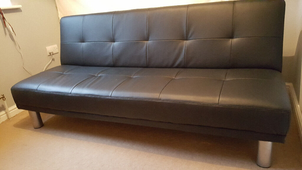 3 seater leather sofa sofa bed day bed futon click clack
