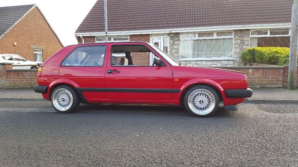 1991 Mk2 Golf 3 door 15  BBS reps & 1991 Mk2 Golf 3 door 15
