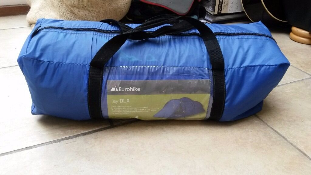 2 Person EuroHike Tay Deluxe 3-pole Tunnel Tent Great Condition & 2 Person EuroHike Tay Deluxe 3-pole Tunnel Tent Great Condition ...