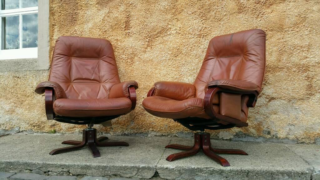 ... vintage swedish mobel leather swivel recliner armchairs ... & Swedish Recliner Leather Recliner Chairs Scandinavian Comfort ... islam-shia.org