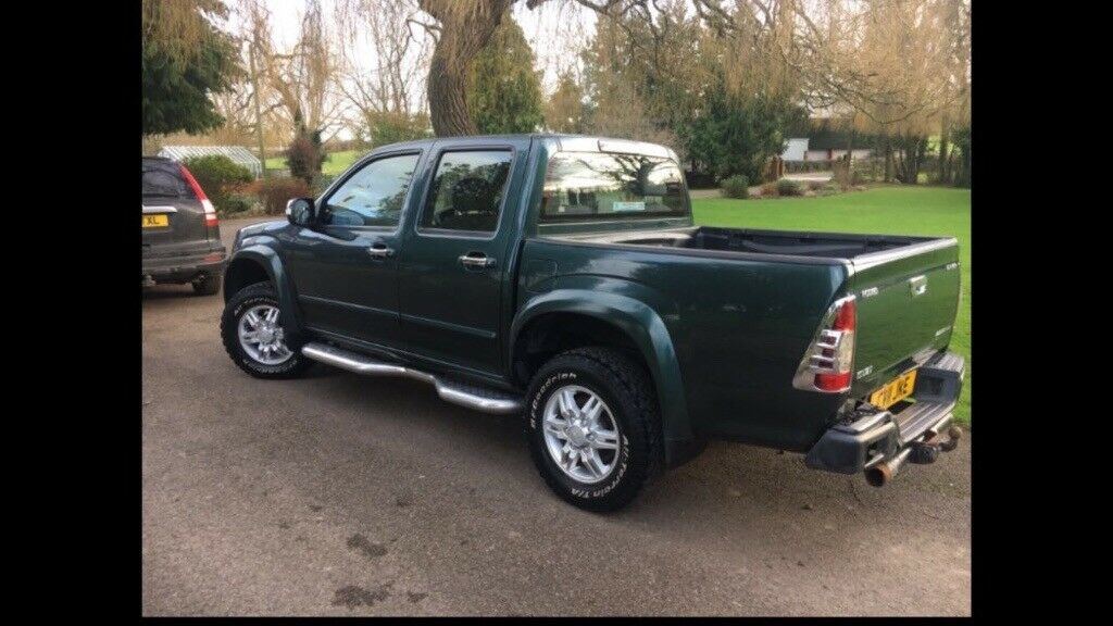 Isuzu rodeo truck with canopy. & Isuzu rodeo truck with canopy.   in Newent Gloucestershire   Gumtree