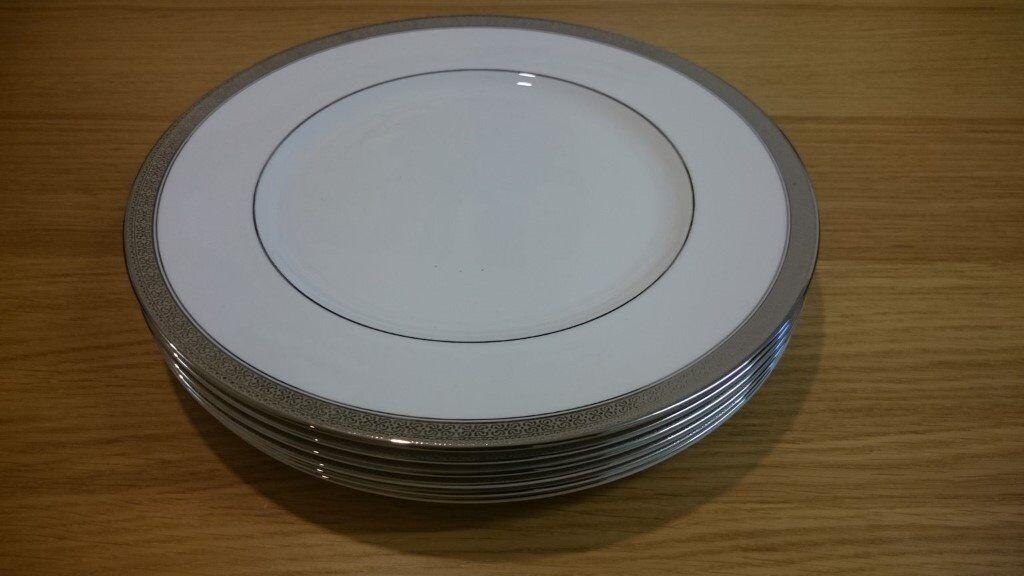 6 white fine English china plates & 6 white fine English china plates | in Sandwell West Midlands | Gumtree