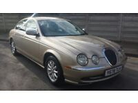 2001 JAGUAR S TYPE / V6 SE AUTO / GOLD / LEATHER/FULL SERVICE