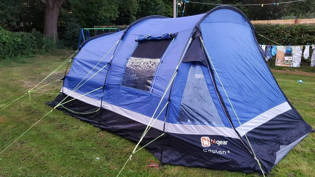 Hi Gear Caplan 5 Tent & Hi Gear Caplan 5 Tent | in Brockenhurst Hampshire | Gumtree