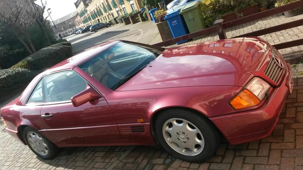 Mercedes Benz SL300 3.0L 2 Door 1992