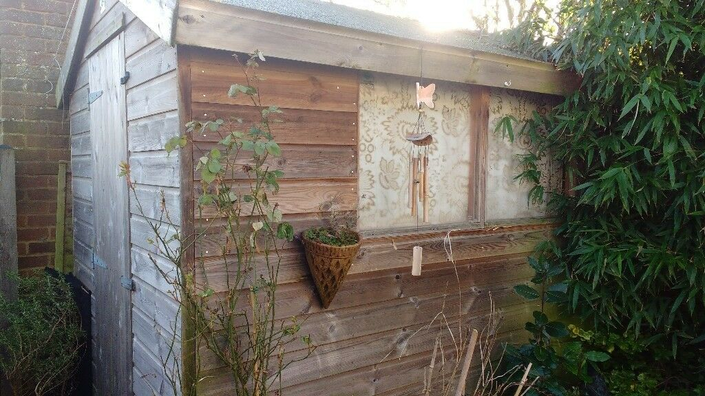 Garden Shed 8ft X 6ft Very Good Condition, Lewes, East Sussex