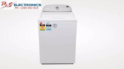 brand new whirlpool 8kg top load washing machine 6awtw5700xw