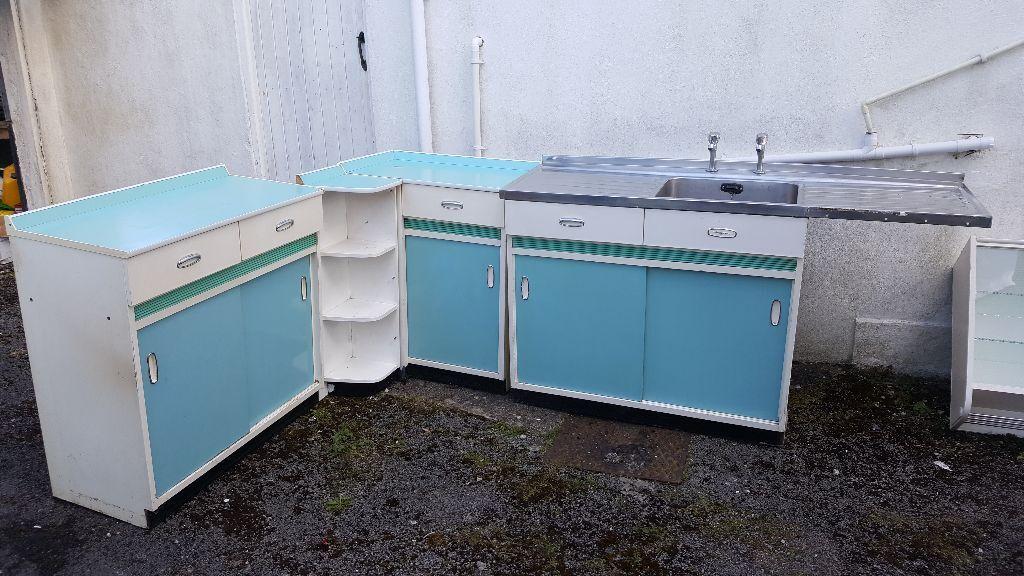 vintage retro 1950 u0027s 1960 u0027s hygena kitchen cabinets blue vintage retro 1950 u0027s 1960 u0027s hygena kitchen cabinets blue   in      rh   gumtree com