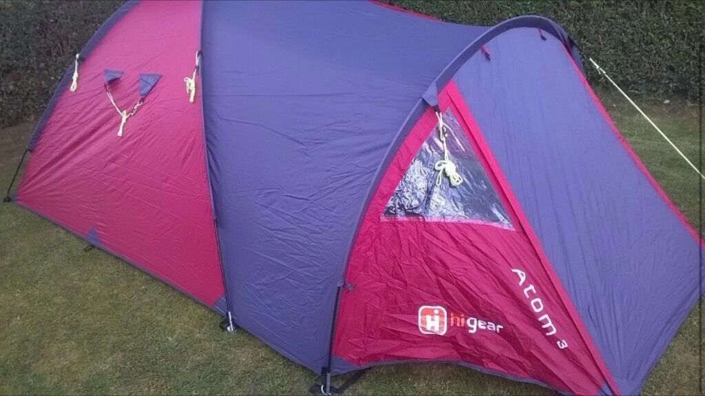 Hi-Gear Atom 3 3 Man Tent for sale £15 quick sale & Hi-Gear Atom 3 3 Man Tent for sale £15 quick sale | in Ormesby ...