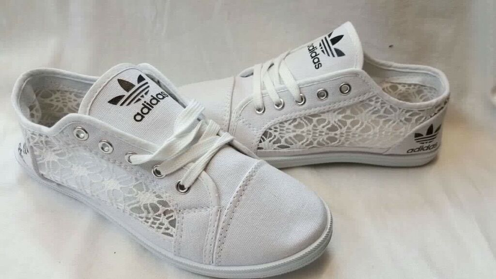Bianche adidas pompe, adidas negozio online comprare adidas