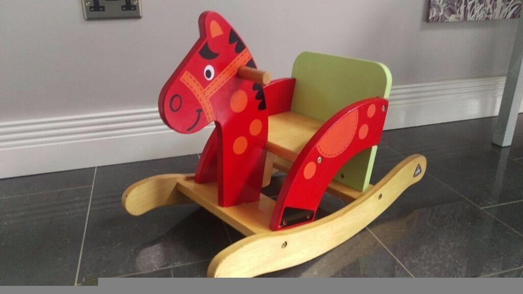 Wooden ELC Rocking Horse