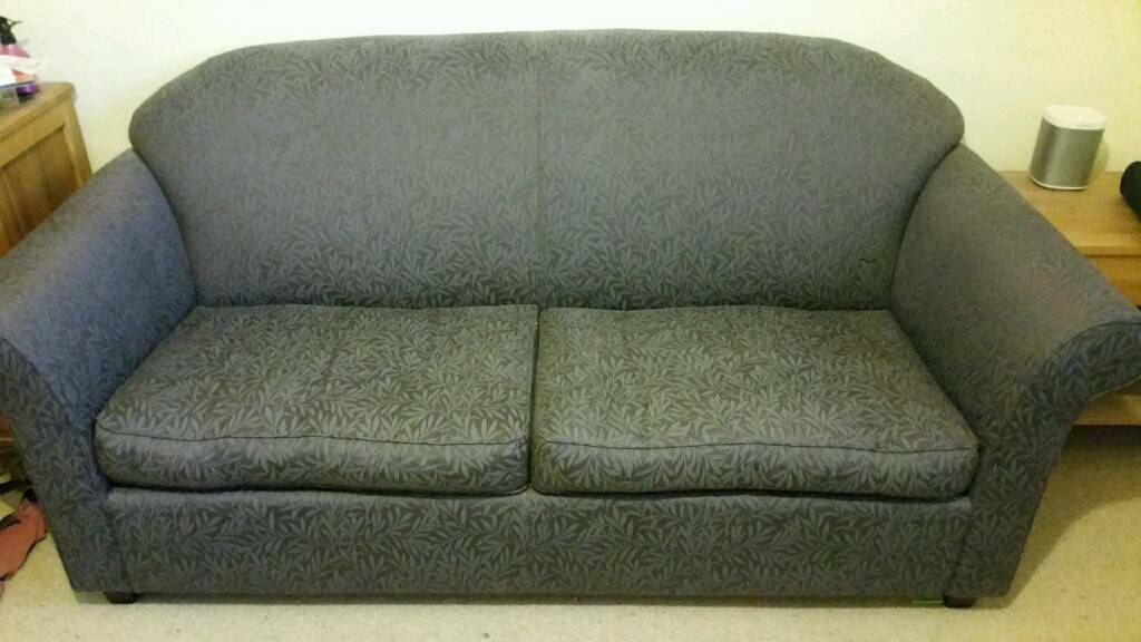 Dark Purple Sofa