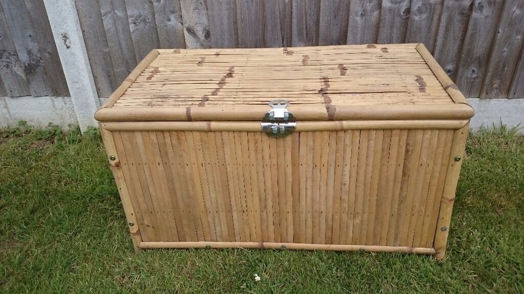 Large Bamboo Chest / Trunk/ Toy Box / Storage Box
