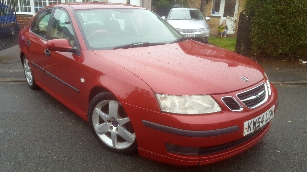 2005 SAAB 9 3 93 2.0T VECTOR SPORT 175 BHP AUTOMATIC WITH PADDLE SHIFT