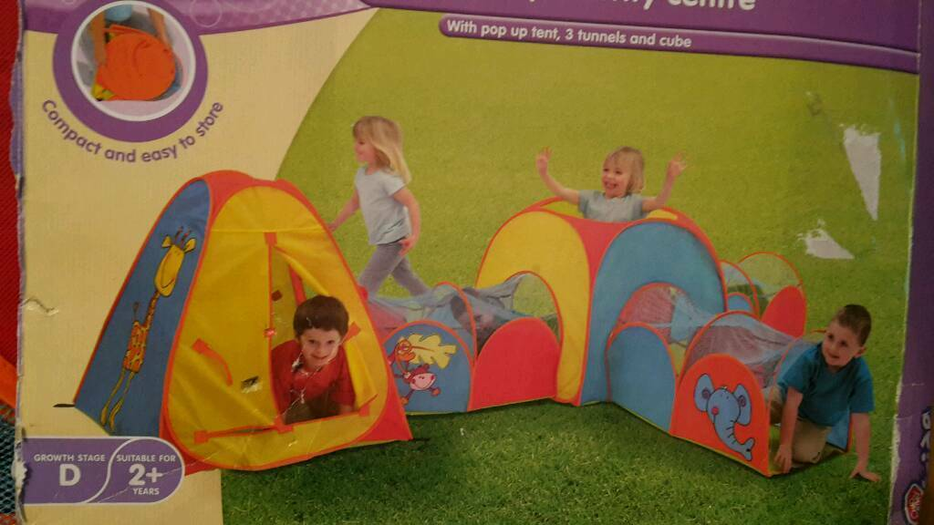 CHAD VALLEY ACTIVITY CENTRE AND TESCO POP UP TENT AND TUNNEL  sc 1 st  Gumtree & CHAD VALLEY ACTIVITY CENTRE AND TESCO POP UP TENT AND TUNNEL | in ...