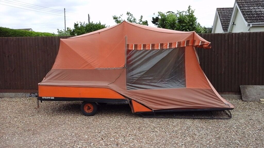 Combi c& retro 70s trailer tent spares or repairs & Combi camp retro 70s trailer tent spares or repairs | in ...