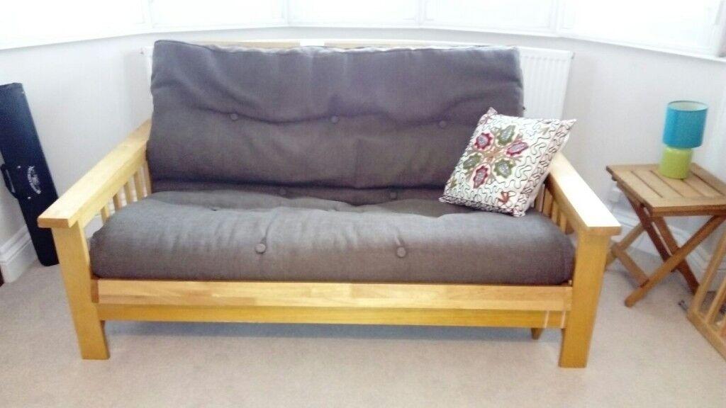 2 seater wooden futon 2 seater wooden futon   in blackheath london   gumtree  rh   gumtree