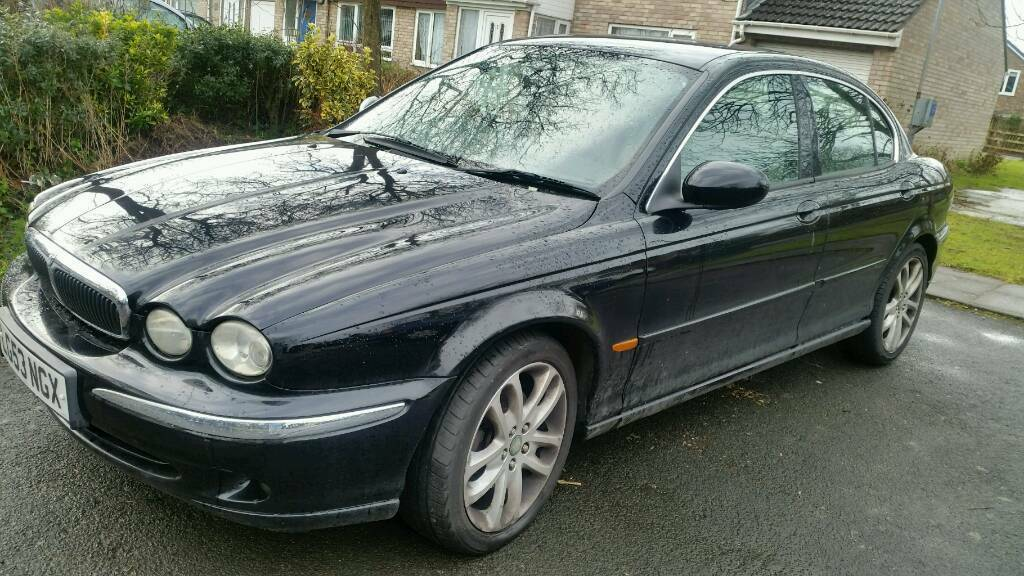 Charming 2003 Jaguar X Type 2.0v6 Auto