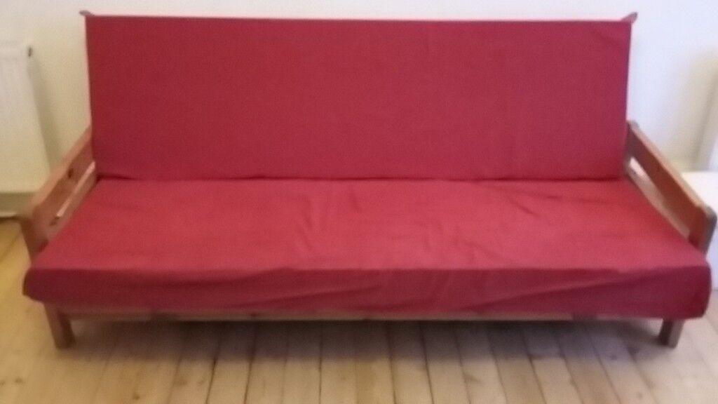 Sofa Bed Futon In Solid Working Condition 70 New Town