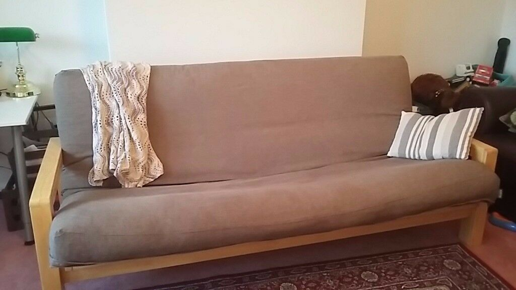 futon  pany 3 seater sofa bed in very good condition futon  pany 3 seater sofa bed in very good condition   in      rh   gumtree