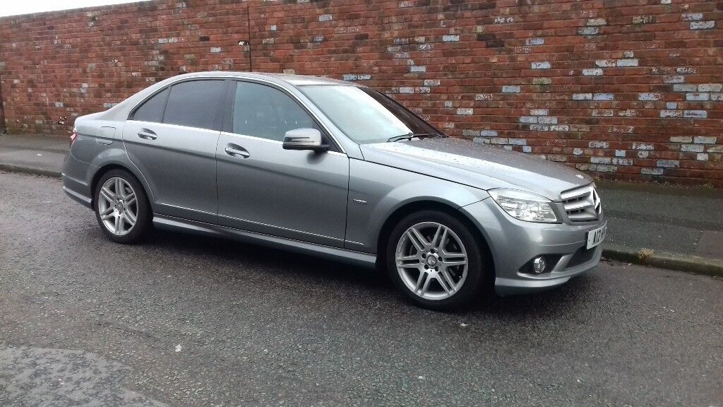 MERCEDES BENZ C200 BLUE EFFICENCY SPORT 2010 PLATE