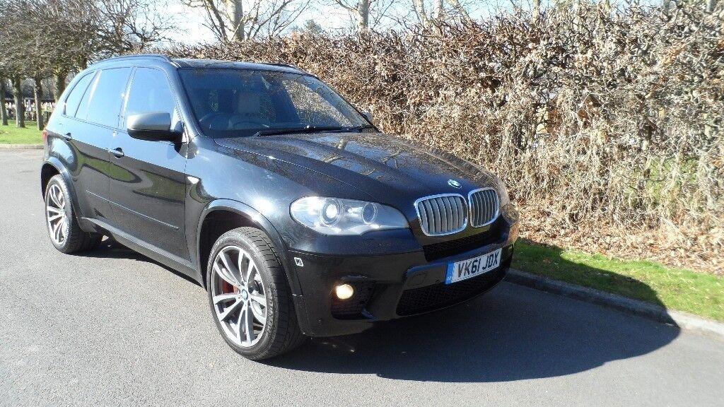 BMW X5 X DRIVE 4.0 D M SPORT 7 SEATER AUTO 2011 MODEL FULL BMW SERVICE  HISTORY