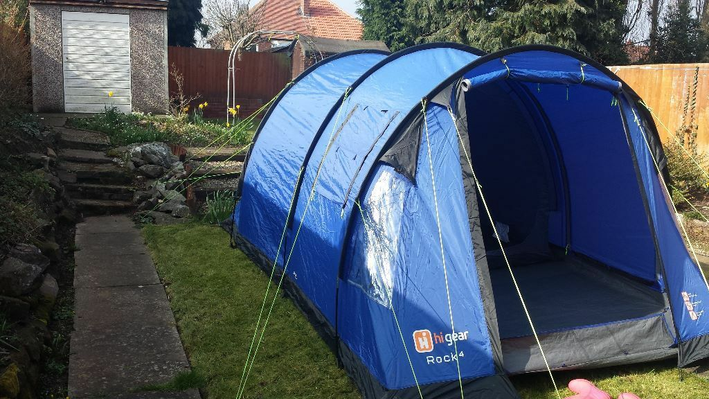 HI GEAR ROCK 4 FOUR MAN TENT LIKE NEW & HI GEAR ROCK 4 FOUR MAN TENT LIKE NEW | in Leicester ...