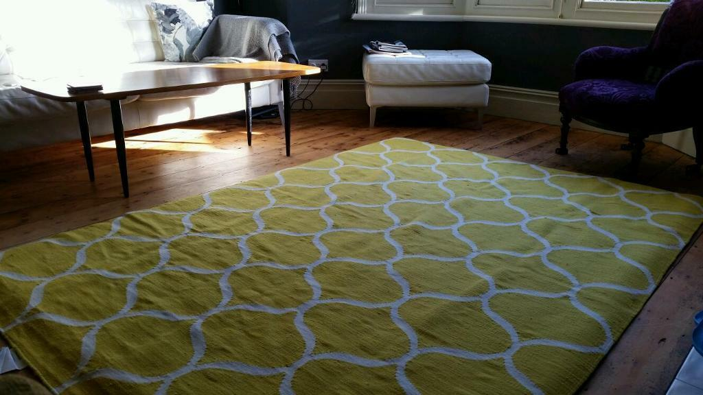 Yellow And White Rug Ikea Designs