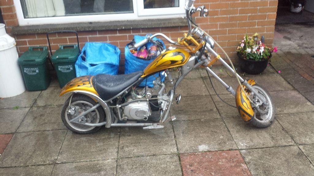 Exceptional 90cc Chopper Bike Mini Moto