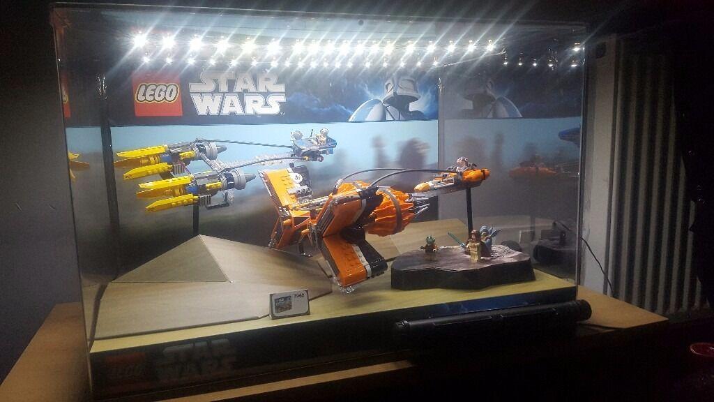 Merveilleux Orginal Lego Star Wars Shop Display Cabinet 7962