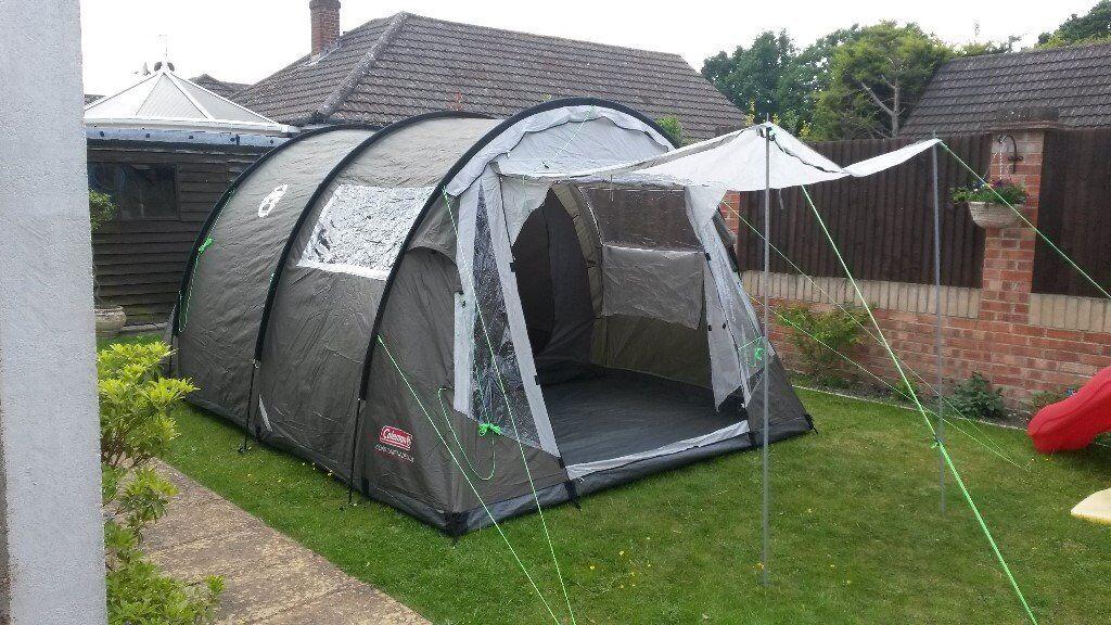 Coleman Coastline 4 man deluxe tent & Coleman Coastline 4 man deluxe tent | in Totton Hampshire | Gumtree