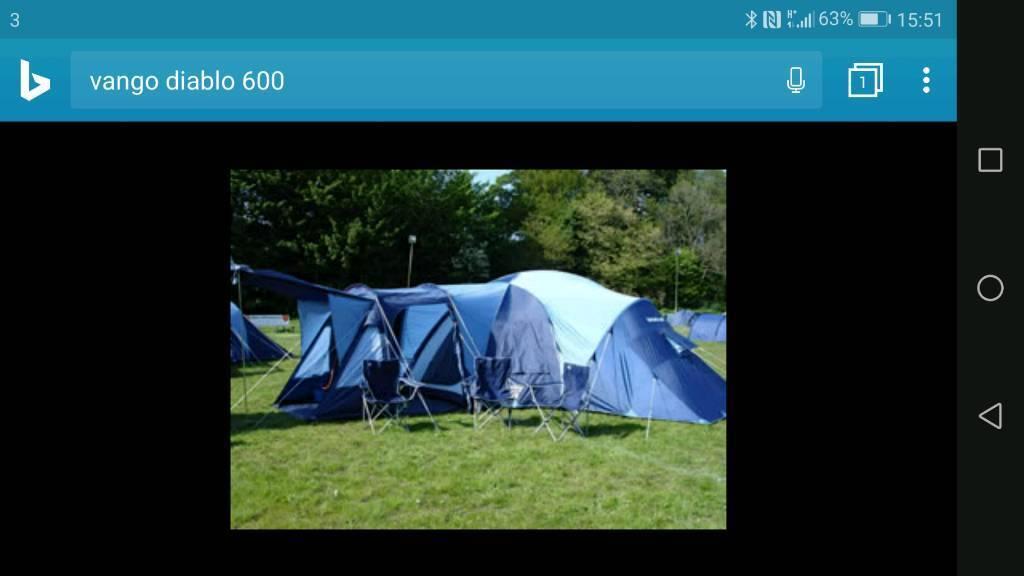 Vango Diablo 600 tent & Vango Diablo 600 tent   in Stirling   Gumtree