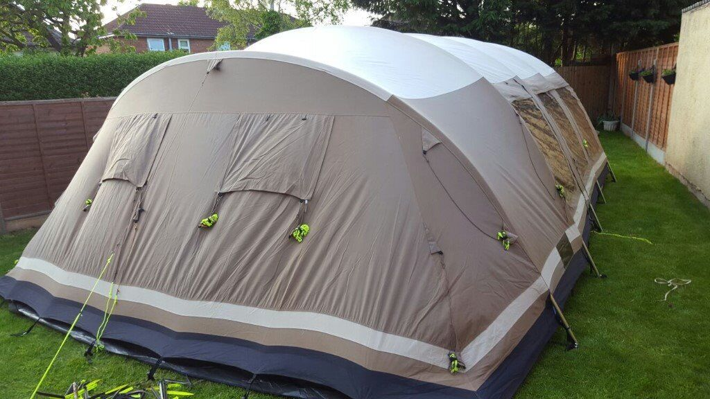 Outwell Yosemite Falls Tent Outtex® 100% Ripstop Cotton RRP £2500 & Outwell Yosemite Falls Tent Outtex® 100% Ripstop Cotton RRP £2500 ...
