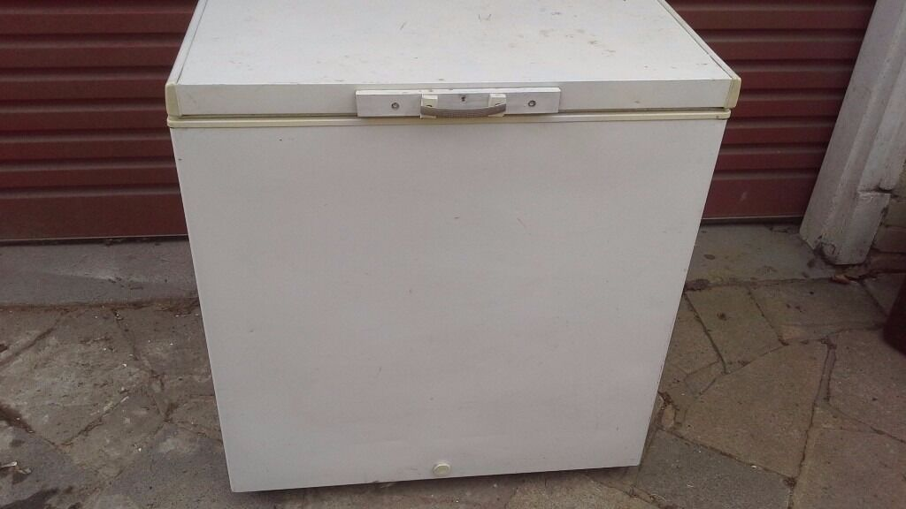 Amazing Chest Freezer, Suitable For A Garage