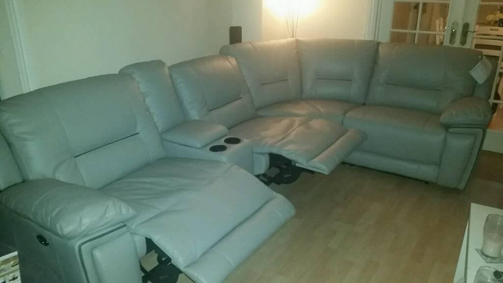 Harveys corner sofa suite recliners media tray & Harveys corner sofa suite recliners media tray | in Telford ... islam-shia.org