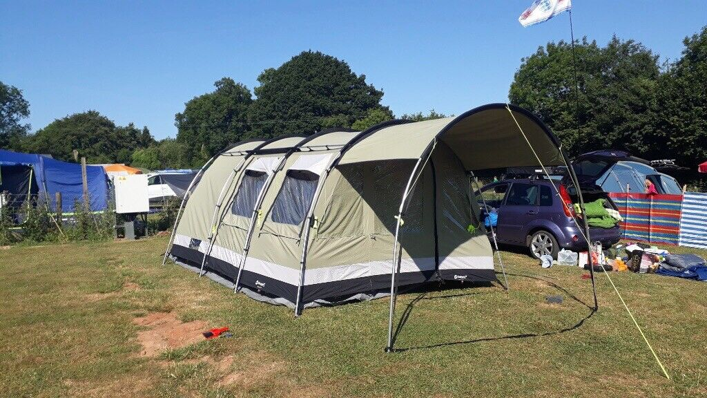 Tent - Outwell Bear Lake 4 Polycotton Tent in perfect condition & Tent - Outwell Bear Lake 4 Polycotton Tent in perfect condition   in ...