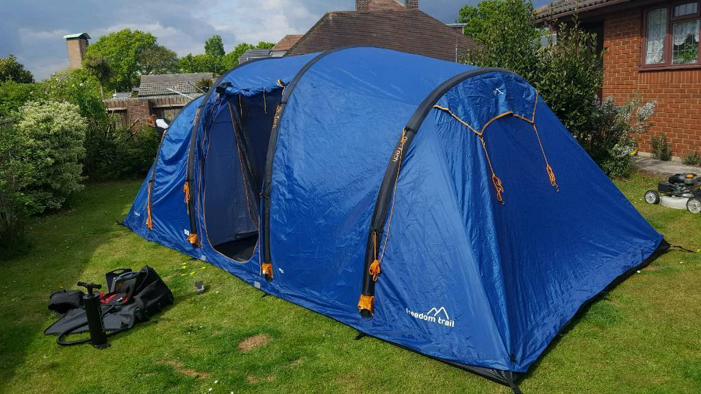 Freedom trail sollia 8 tent air inflatable & Freedom trail sollia 8 tent air inflatable   in Poole Dorset ...