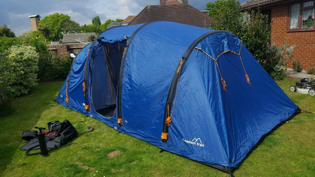 Freedom trail sollia 8 tent air inflatable & Freedom trail sollia 8 tent air inflatable | in Poole Dorset ...