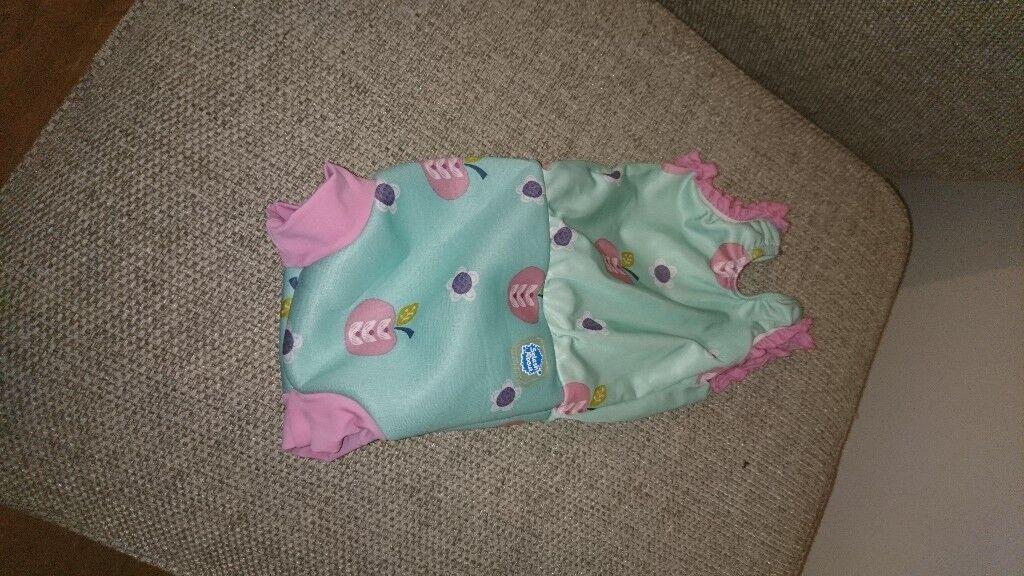 Cute Splash About Happy Nappy Swimming Costume   Small