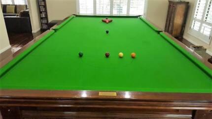 FULL Size 12ft Snooker Pool Billiard Table   Heiron U0026 Smith