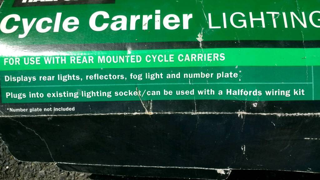Cycle carrier lighting board. & Cycle carrier lighting board. | in Church Lancashire | Gumtree azcodes.com